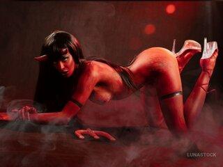 LunaStock nude video